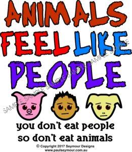 Animals Feel(t-shirt)
