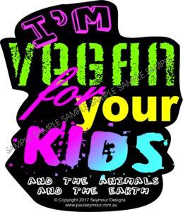 vegan 4 kids(T-shirt)